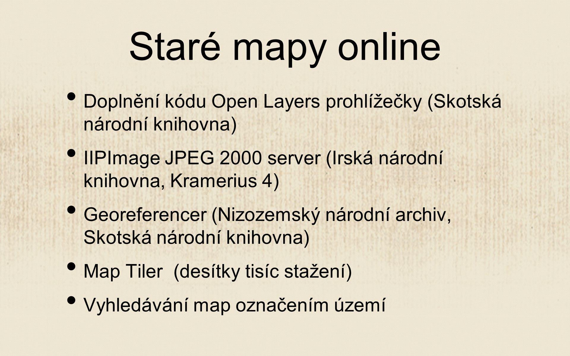 Digitalizace Účast v projektu Europeana Travel Digitalizace Mollovy sbírky a Sbírky starých map Vytvoření metodiky pro digitalizaci map