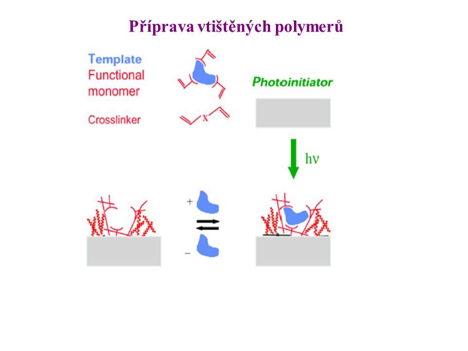 Příprava vtištěných polymerů