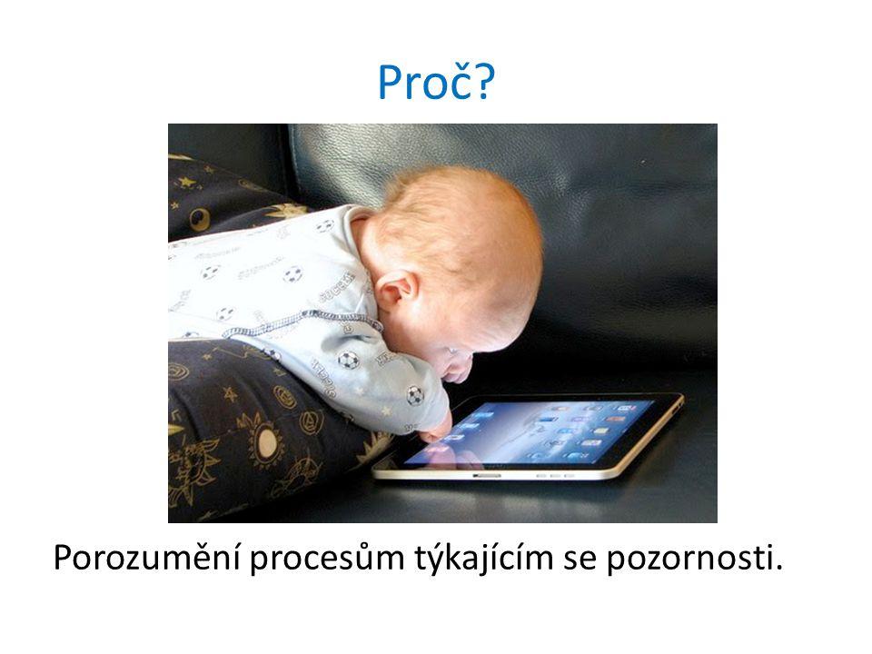 Proč? Porozumění procesům týkajícím se pozornosti.