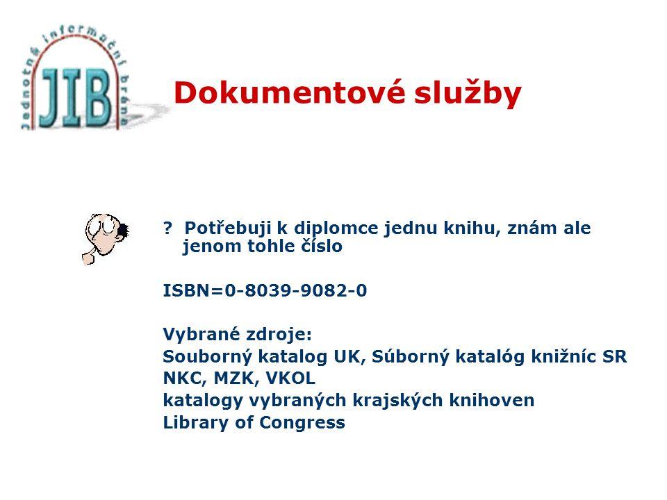 Dokumentové služby .