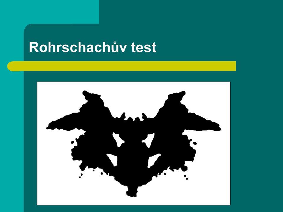 Rohrschachův test