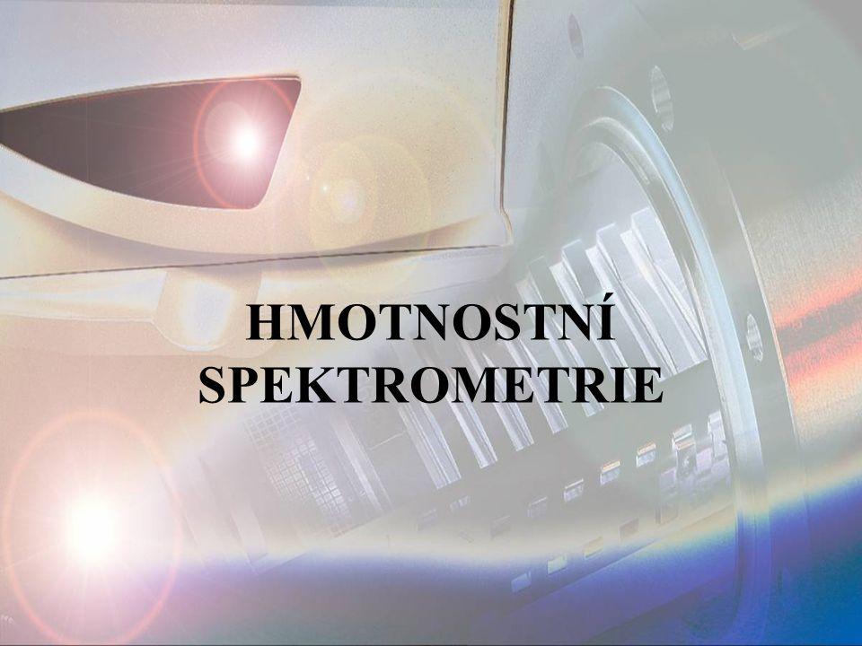 h) Sprejové ionizace Spojení HPLC – MS