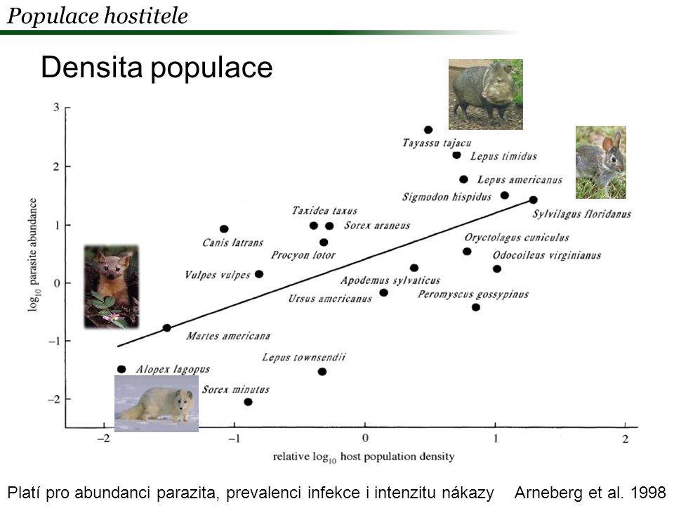 Jak může hostitel ovlivnit virulenci svého parazita Aby zmírnil virulenci svých parazitů, může hostitel ve své evoluci přizpůsobit:  Populační strukturu (diversita, densita, věková struktura)  Ekologii a chování - snížení rychlosti přenosu infekce van Riper et al.
