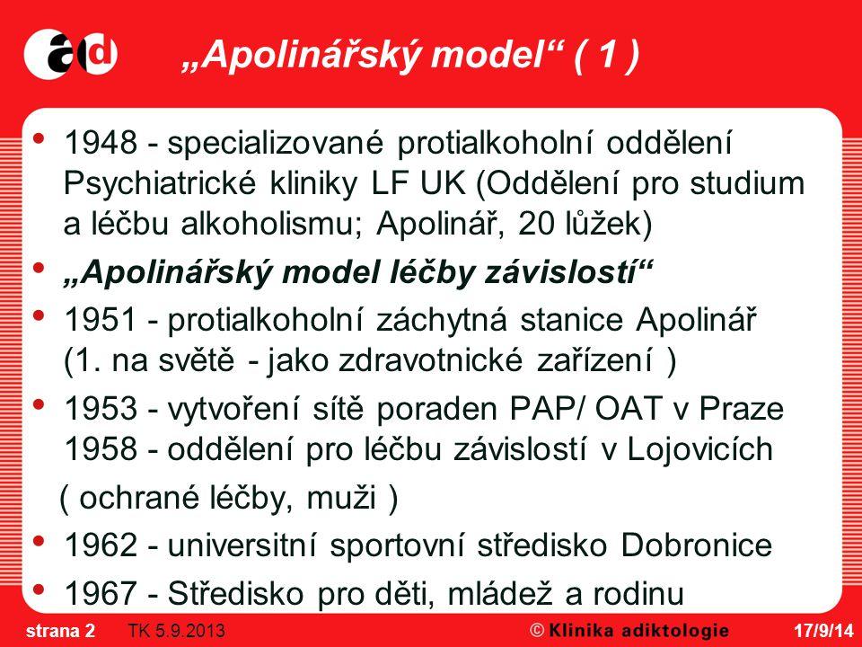 17/9/14strana 13 GPS ČR 2008 Děkujeme za pozornost