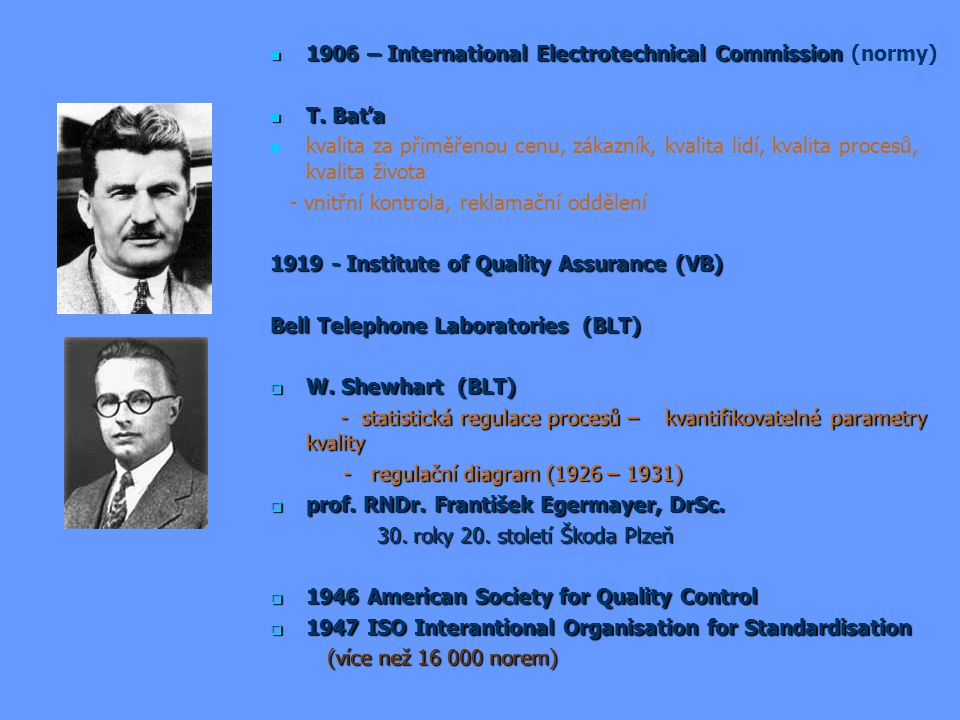 1906 – International Electrotechnical Commission 1906 – International Electrotechnical Commission (normy) T.