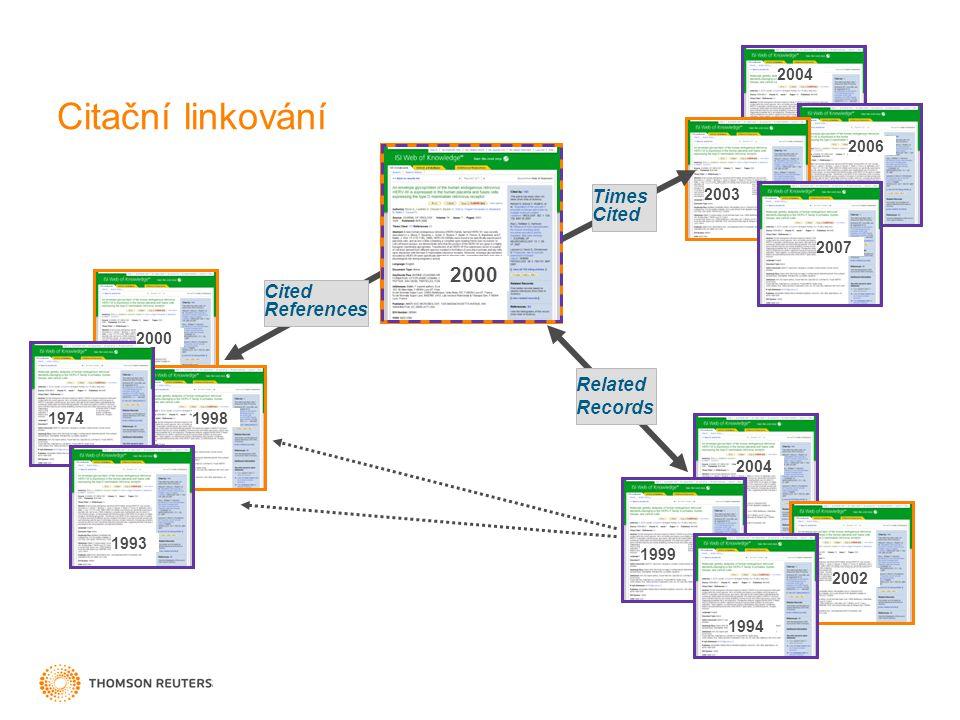 ČESKÝ VÝZKUM 15 V 70.- 90. letech bylo článků českých autorů kolem 4000.
