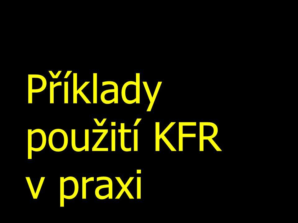 Příklady použití KFR v praxi