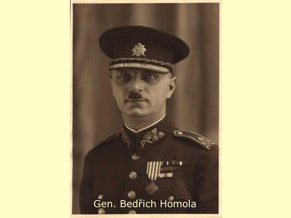 a Gen. Bedřich Homola