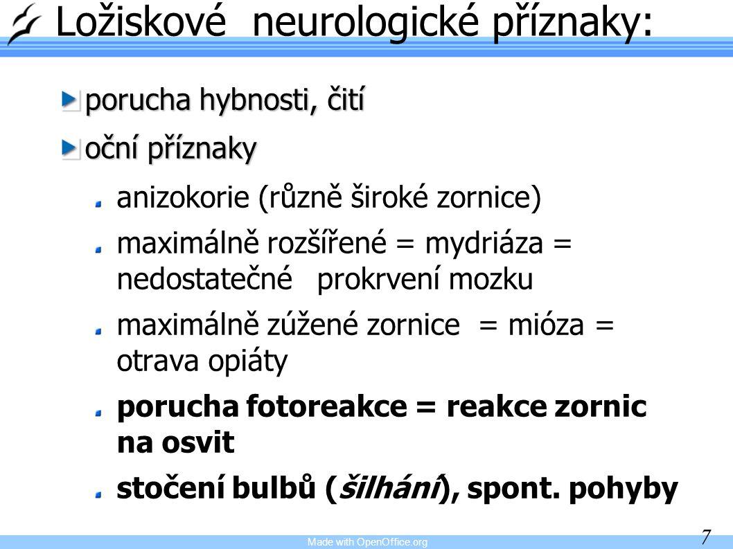 Made with OpenOffice.org 28 Epilepsie E.