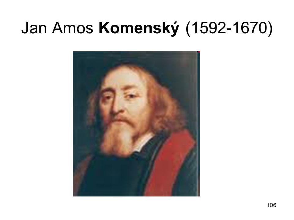 106 Jan Amos Komenský (1592-1670)