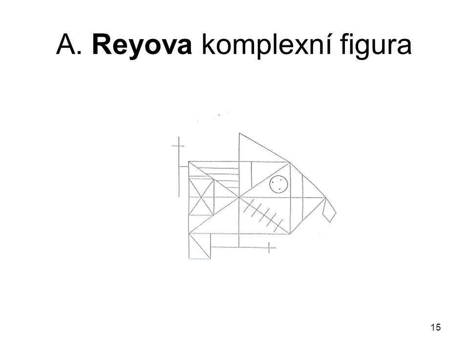 15 A. Reyova komplexní figura
