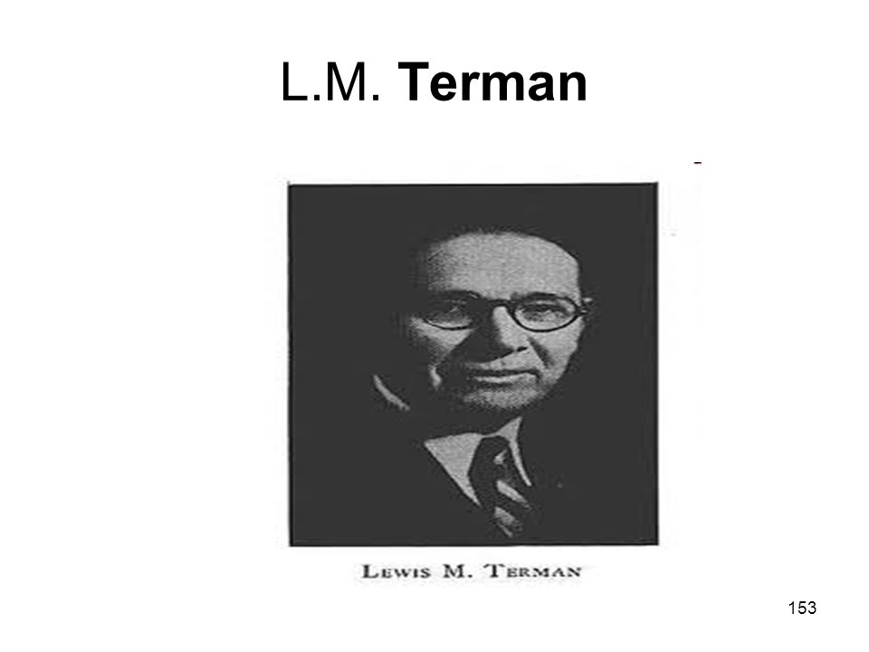 153 L.M. Terman