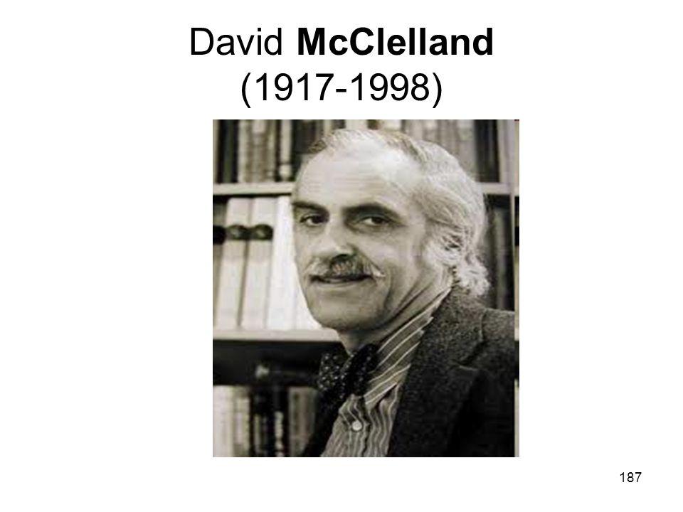 187 David McClelland (1917-1998)