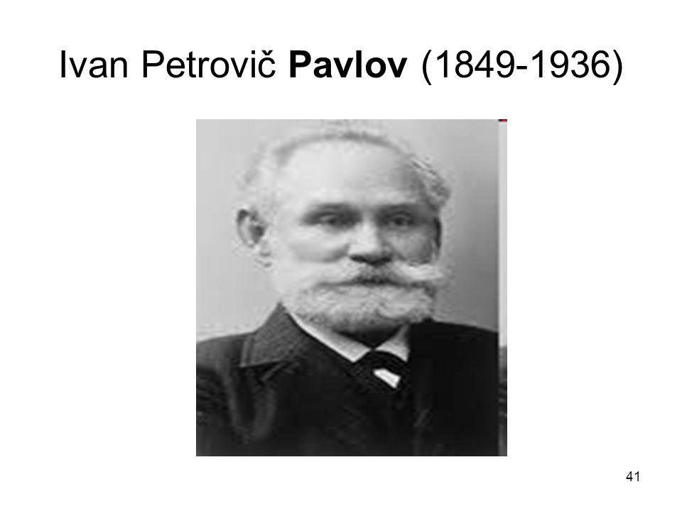 41 Ivan Petrovič Pavlov (1849-1936)