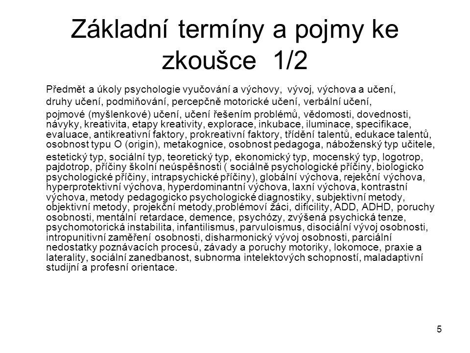 86 Humanistická psychologie 4 Názor na lidskou povahu pozitivní.