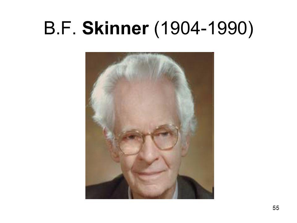 55 B.F. Skinner (1904-1990)