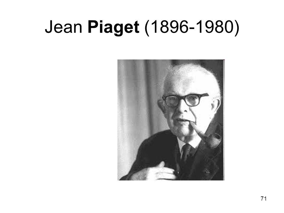 71 Jean Piaget (1896-1980)