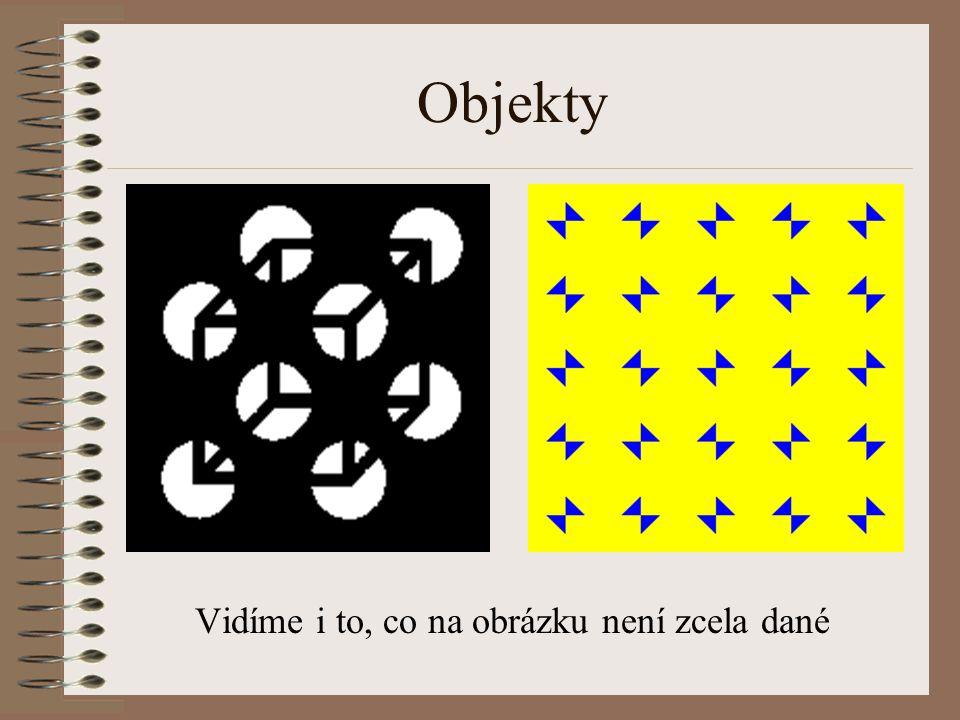 """Objekty Tyto """"kamufláže"""" jsou pokusy zabránit v rozpoznání objektu v obrázku proti jeho pozadí, většinou rozbitím jeho obrysu Ukazují, jak silný je vl"""