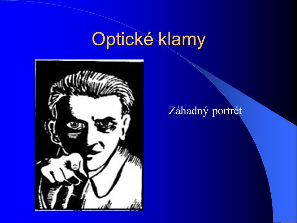 Optické klamy Záhadný portrét
