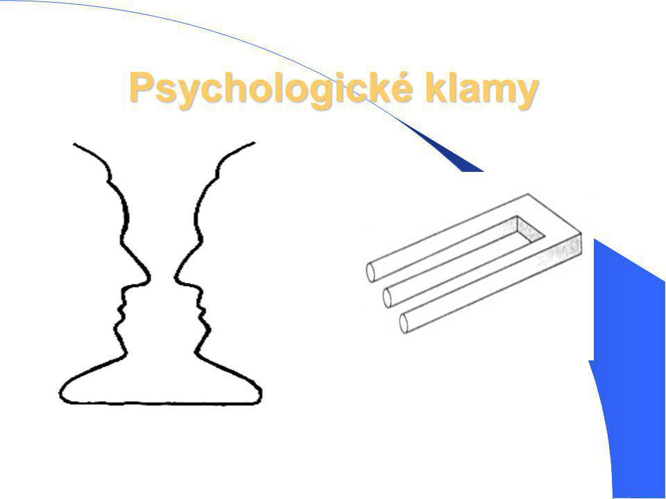 Psychologické klamy