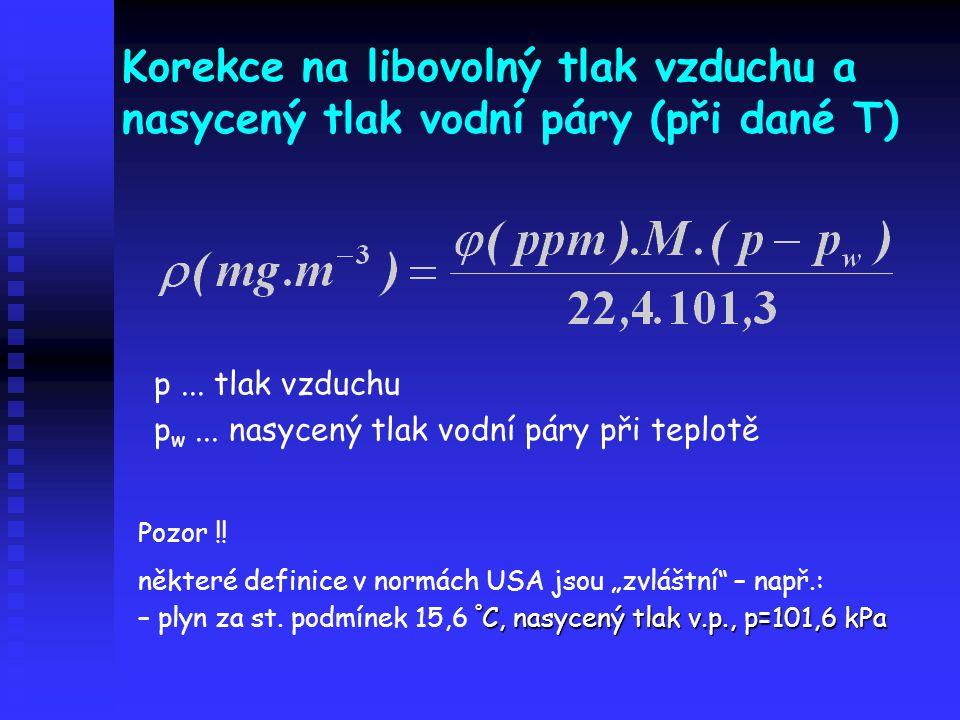 Metody stanovení H 2 S potenciometrie ISE plyn  absorbér s NaOH  Na 2 S  měrná cela se sulfidovou ISE, SKE a míchadlem potenciometrie ISE plyn  absorbér s NaOH  Na 2 S  měrná cela se sulfidovou ISE, SKE a míchadlem chromatografie – kolony s vysokou inertností náplně materiál kolony – fluorovaný kopolymer ethylen- propylen nosič – Porapak T [poly(ethylenglykoldimethakrylát)] nanesená fáze – polyfenylether (5 kruhů) + malé množství kys.