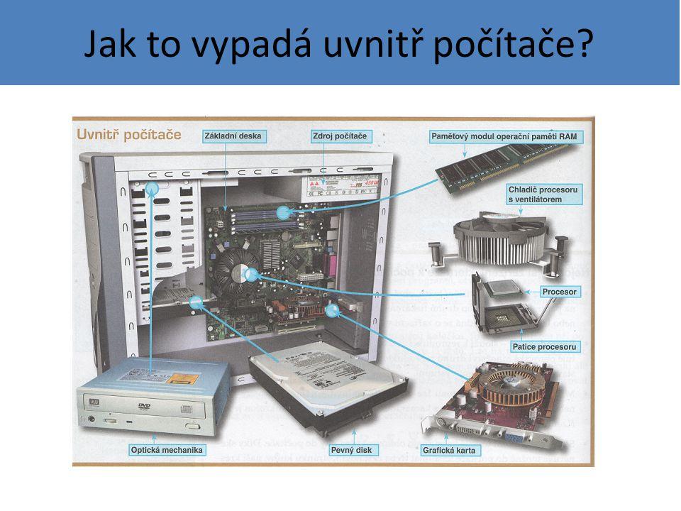 Jak to vypadá uvnitř počítače?