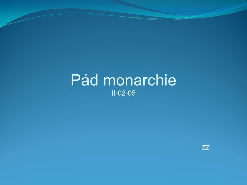 Pád monarchie II-02-05 ZZ