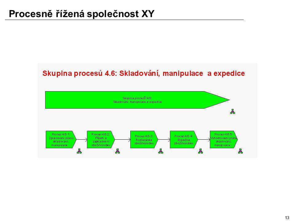 12 Procesně řížená společnost XY