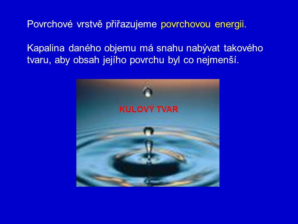 Příklad 1 Tlustostěnnou kapilárou vnějšího průměru 3,41 mm odkapalo 100 kapek vody teploty 15 °C o celkové hmotnosti 8,11 g.