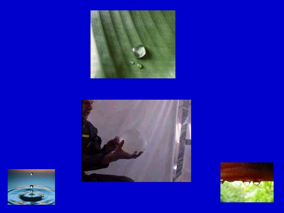 Povrchové vrstvě přiřazujeme povrchovou energii. Kapalina daného objemu má snahu nabývat takového tvaru, aby obsah jejího povrchu byl co nejmenší. KUL