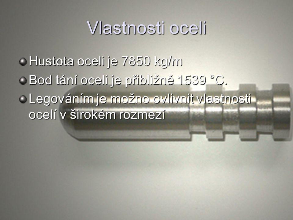 Využití oceli Ocel se využívá pro nosné konstrukce staveb.