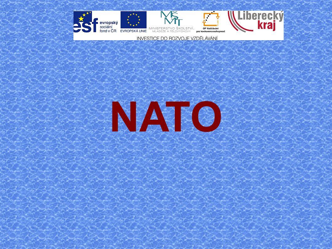 Zdroje: http://www.natoaktual.cz/ http://www.mocr.army.cz/nato/nato-8493/ http://cs.wikipedia.org/wiki/Severoatlantick%C3 %A1_aliance