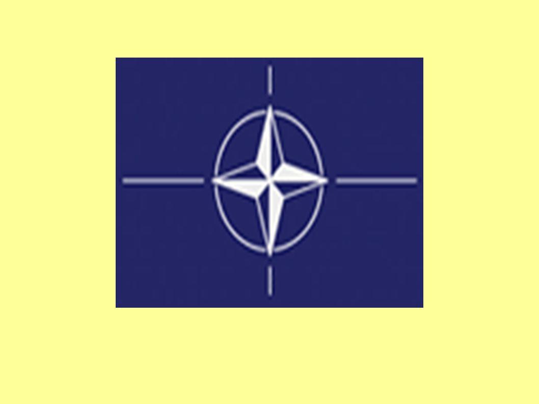 SEVEROATLANTICKÁ ALIANCE = North Atlantic Treaty Organization politická a vojenská aliance, jejímiž hlavními cíli jsou kolektivní obrana jejích členů a zachování demokracie a míru v oblasti severního Atlantického oceánu – spojuje země z Evropy a Severní Ameriky hlasy všech 28 členských zemí jsou si rovny, rozhodnutí v Alianci musejí být jednomyslná členové musejí uznávat základní hodnoty, na kterých je aliance postavena, tj.