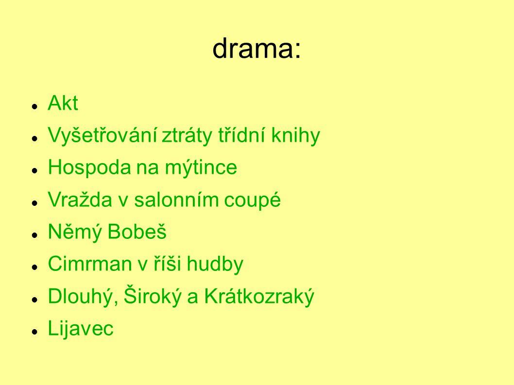 Žižkovské divadlo Járy Cimrmana založeno r. 1966 původně soukromý recesistický spolek leitmotivem Mistrovo postupně objevované prvenství téměř ve všec