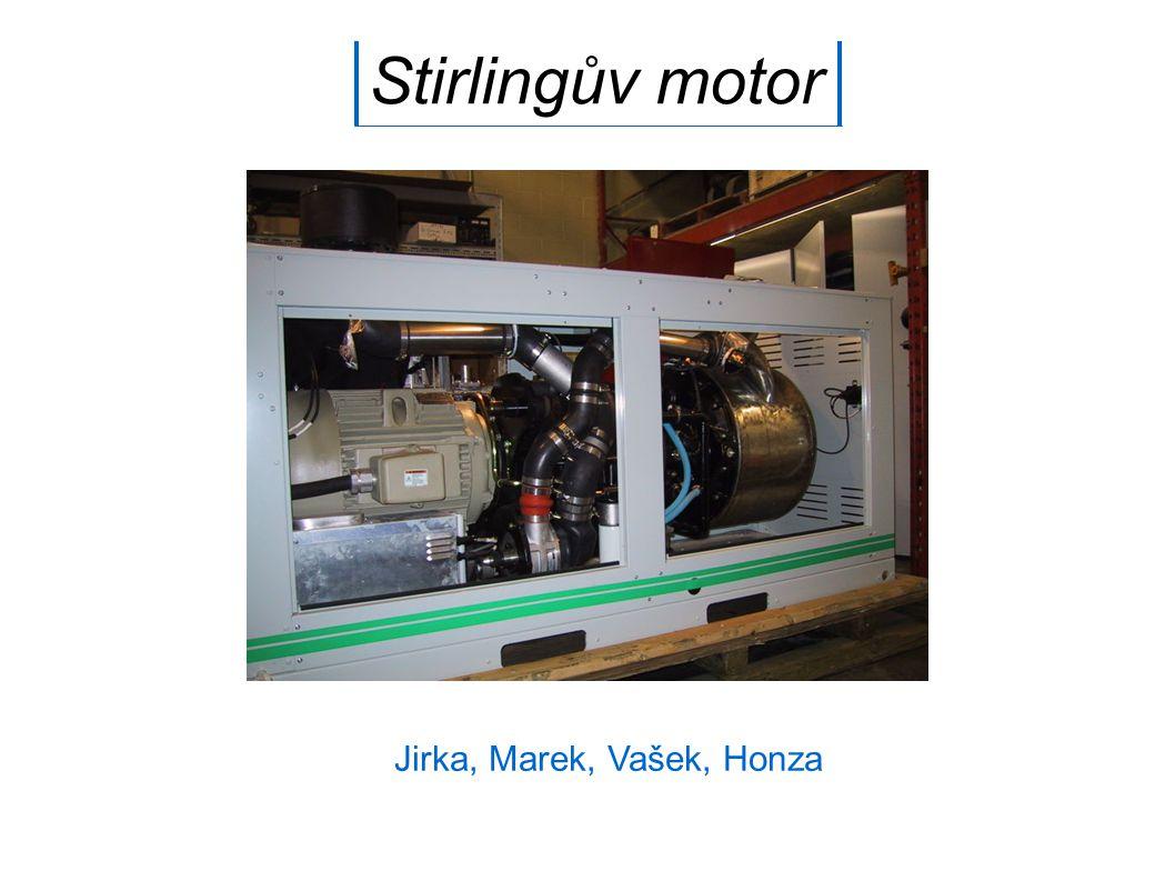 Stirlingův motor Jirka, Marek, Vašek, Honza