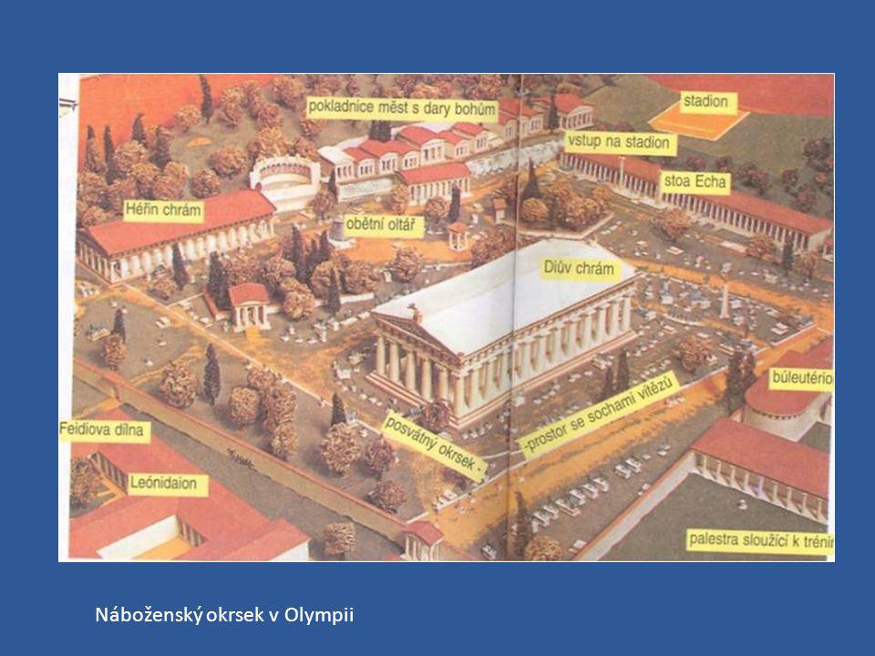 Náboženský okrsek v Olympii