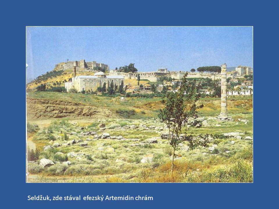 Seldžuk, zde stával efezský Artemidin chrám