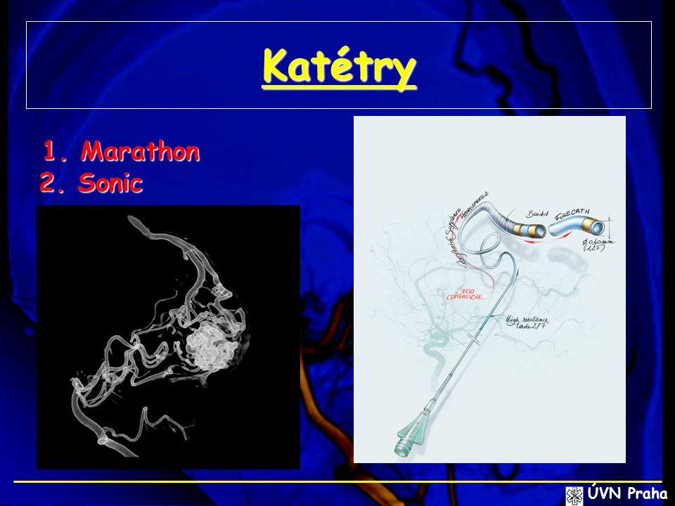 Katétry 1. Marathon 1. Marathon 2. Sonic ÚVN Praha