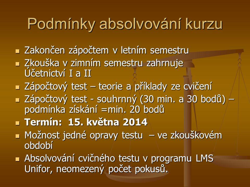 Právní normy v účetnictví ČR Zákon o účetnictví č.