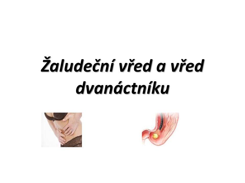 Žaludeční vřed a vřed dvanáctníku