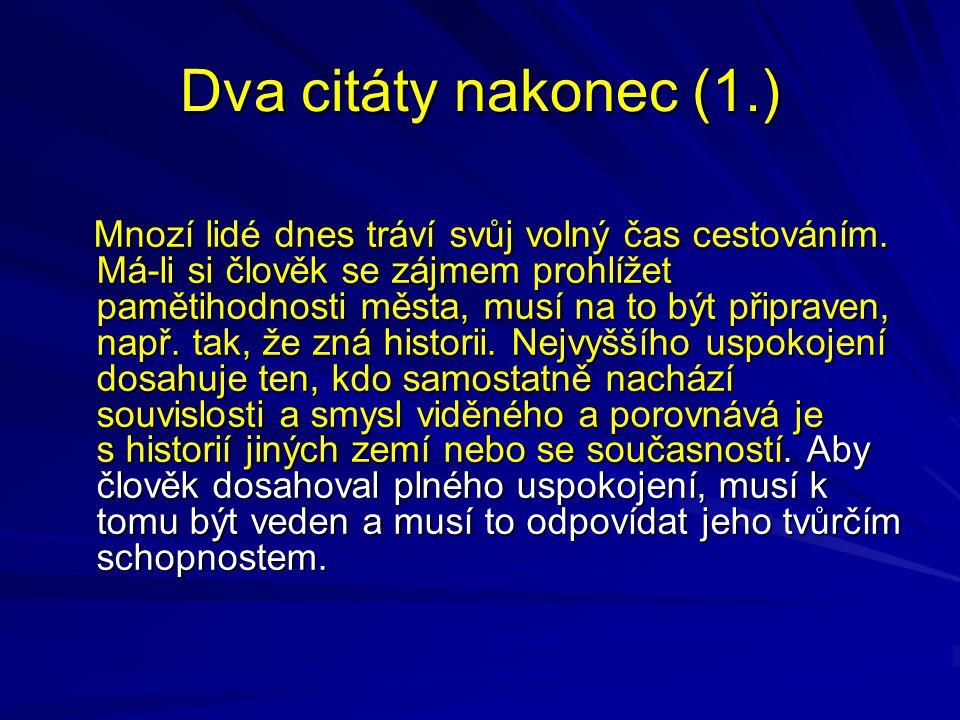 Dva citáty nakonec (1.) P.L. Kapica (1970) P. L.