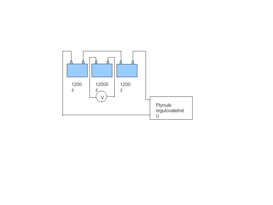 Plynule regulovatelné U V 1200 z 12000 z