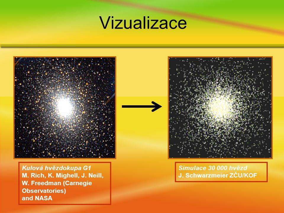 Kulová hvězdokupa G1 M. Rich, K. Mighell, J. Neill, W.