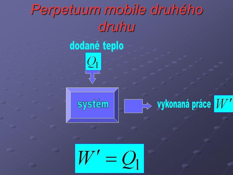 Perpetuum mobile druhého druhu