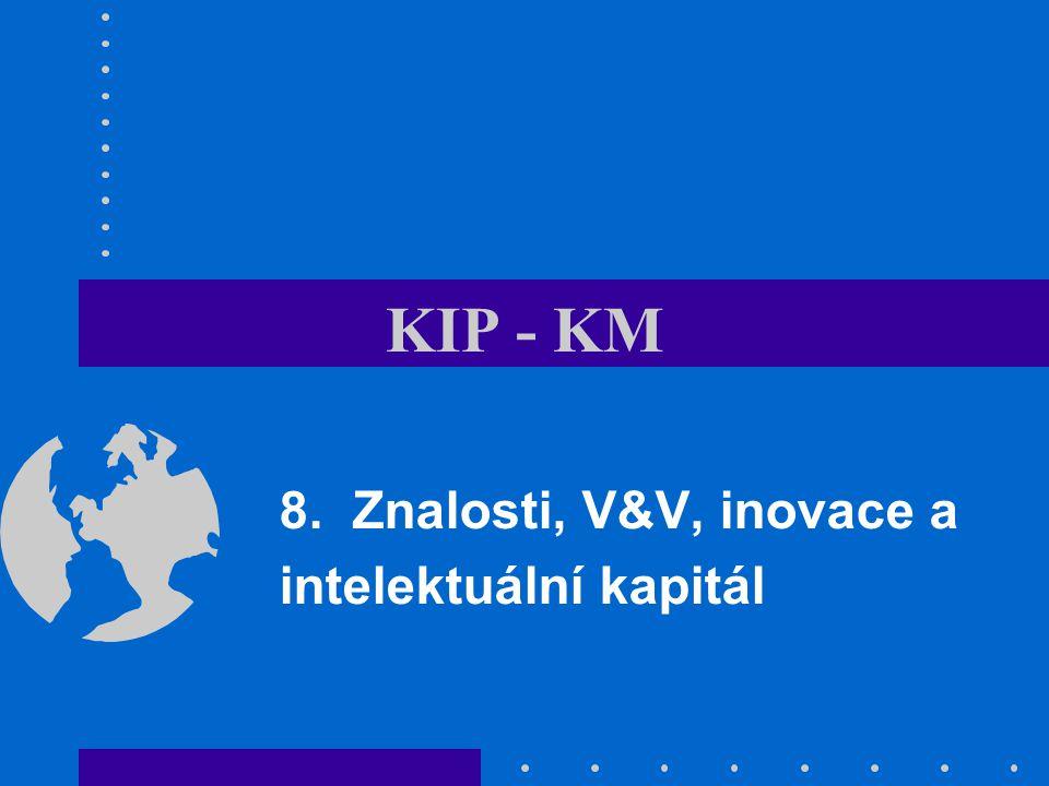 KIP - KM 8. Znalosti, V&V, inovace a intelektuální kapitál