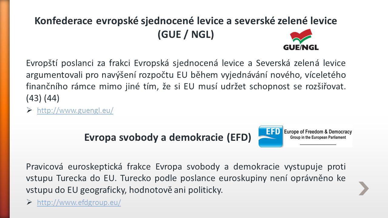 Konfederace evropské sjednocené levice a severské zelené levice (GUE / NGL) Evropští poslanci za frakci Evropská sjednocená levice a Severská zelená l
