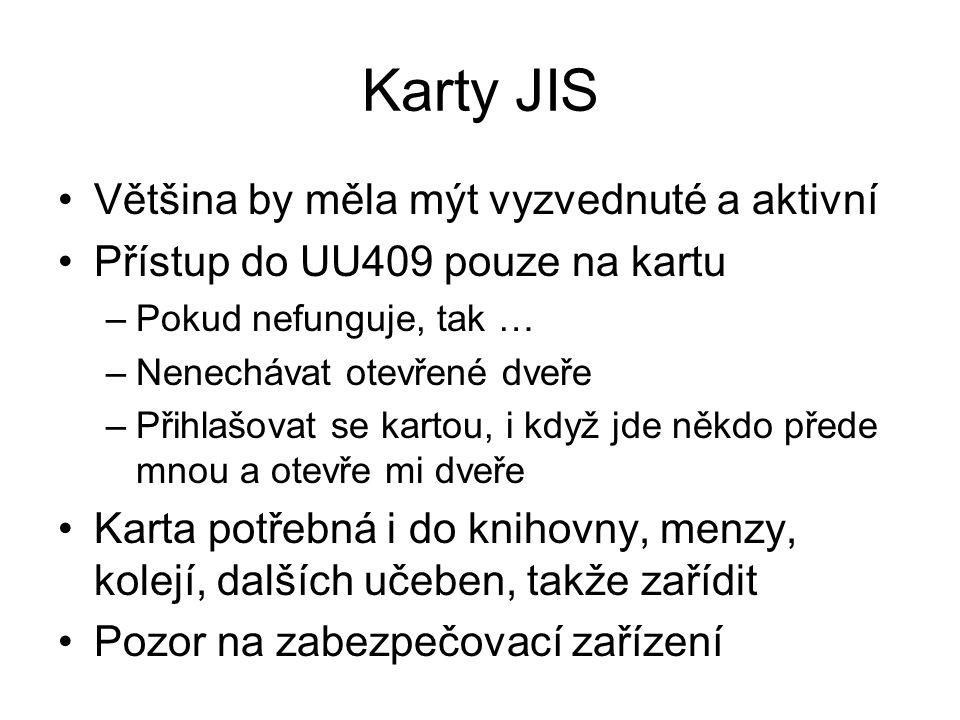 Konto Orion I Většina by měla mít zařízené a aktivní  přihlásit se, pokud není použít pokusnicek Jednotné přihlašování kdekoliv na univerzitě ve veřejných i dalších učebnách Jednou za čas (½ roku) potřeba změnit heslo, oznámení přijde na studentský mail (vas_orion_login@students.zcu.cz)vas_orion_login@students.zcu.cz