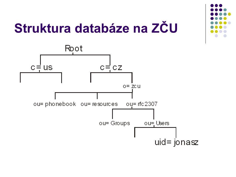 Struktura databáze na ZČU