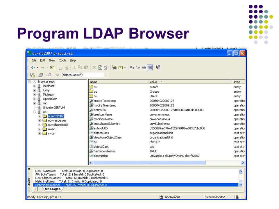Program LDAP Browser