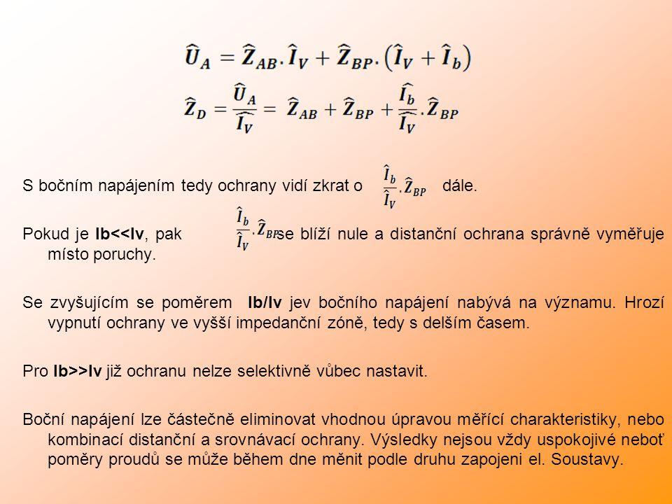 Impedanční nesymetrie přenosových a distribučních sítí: Velikost impedančních nesymetrie je dána zejména: -konfigurací vodičů -vzájemné vzdálenosti -vzdálenosti od zemnících lan -u paralelních vodičů také na vzájemné vzdálenosti vodičů mezi paralelními potahy Důvody tohoto nepříznivého stavu jsou zejména následující: -neprovádění transpozic vodičů -instalace vodivějších zemnících lan Těchto stavů většinou docílíme zásahy do již vybudované sítě výstavbou nových rozvoden, či výměnnou starých zemnících lan…